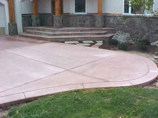Water On The Rocks Has Been Incorporating Decorative Stamped Concrete With  Water Features And Landscaping Since 2001.